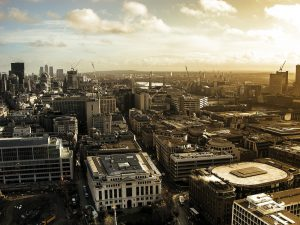 City of London aerial photo