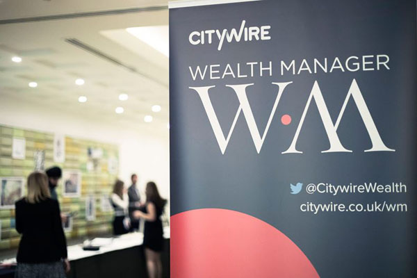 Citywire Wealth Manager magazine display board